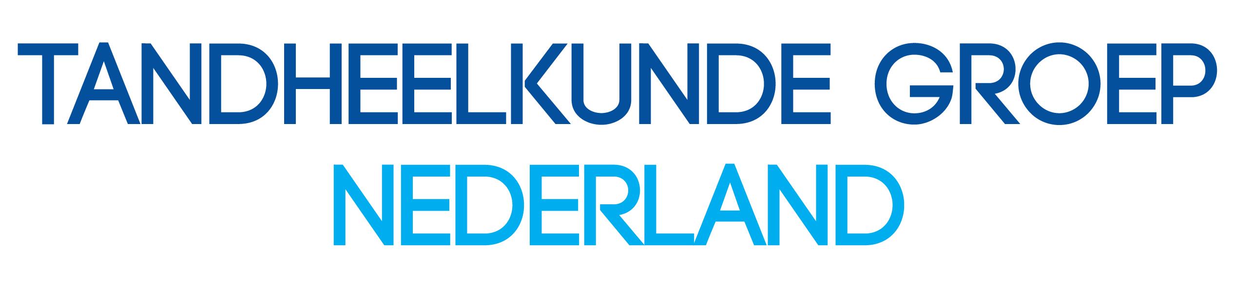 Logo Tandheelkunde Groep Nederland DEF Text Only3